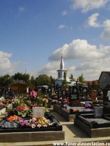 Ковалевское кладбище СПб