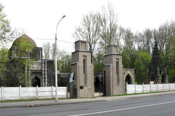 Еврейское кладбище СПб