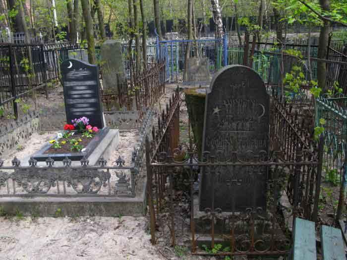 Нововолковское кладбище