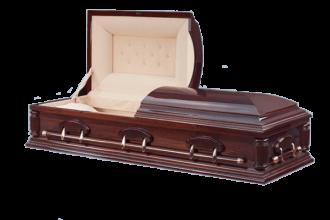 Гроб деревянный Люкс - 117000 руб.