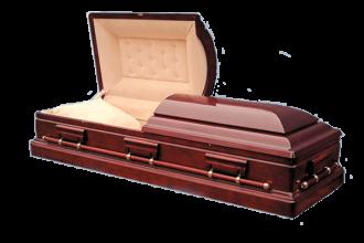 Гроб деревянный Махаон - 144000 руб.