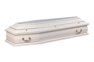 Гроб Саркофаг белый - 31700₽