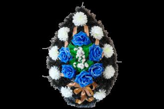 Венок на могилу B5 <br>Высота: v<br> - 980 рублей