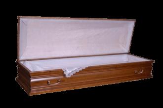 Гроб деревянный 32 Г постель