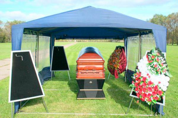 Шатер для похорон