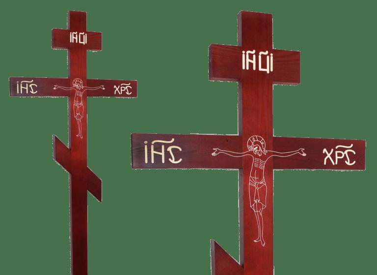 Сосновый крест на могилу