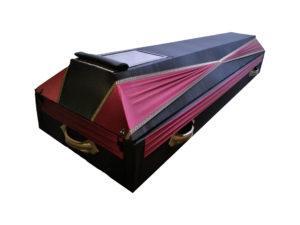 Гроб с окошком для покойных с COVID-19
