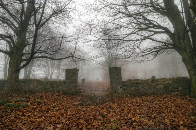 Затерянные и обнаруженные кладбища мира