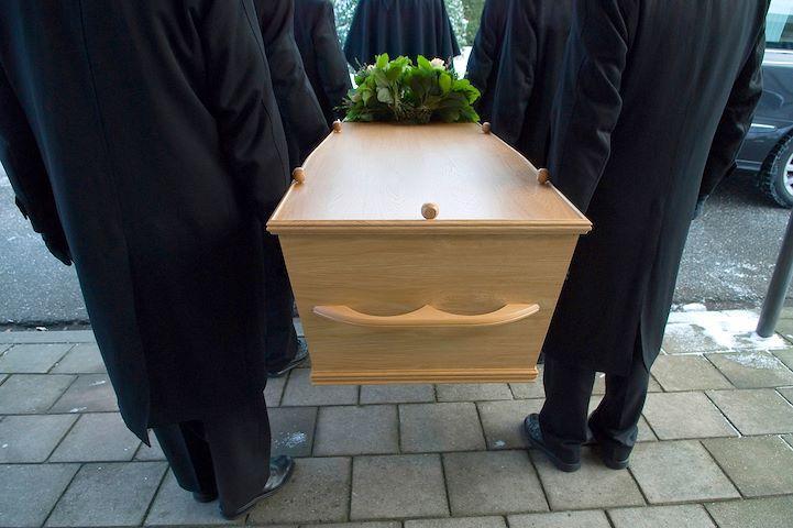 Траурное сопровождение гроба