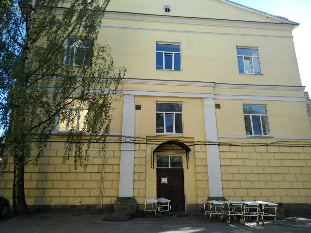 Морг Мариинской больницы