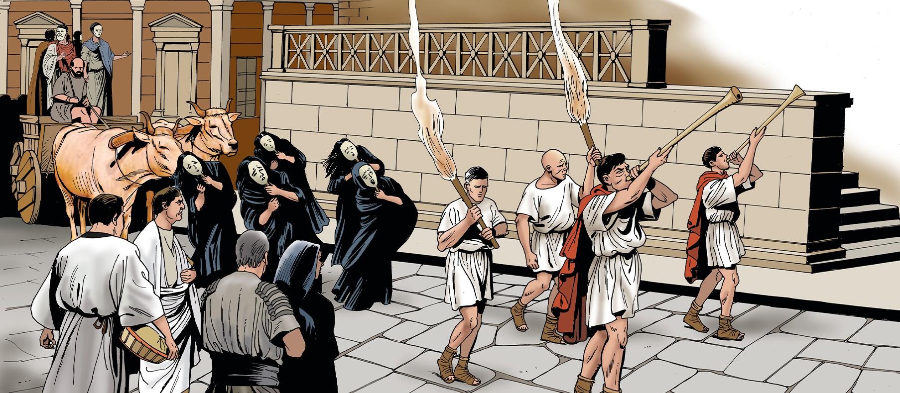 Похороны в Древнем Риме