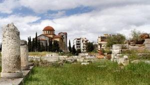 Древнее кладбище Афин