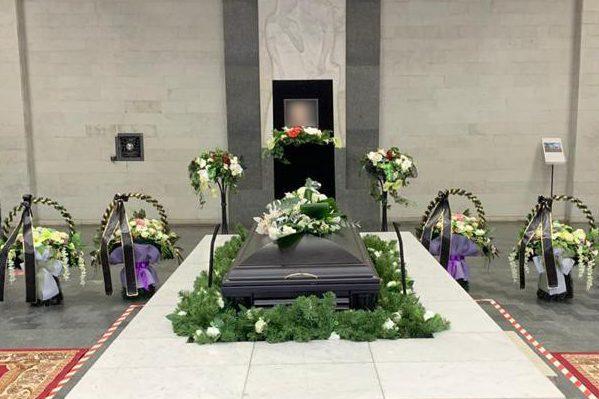 Оформление зала в крематории
