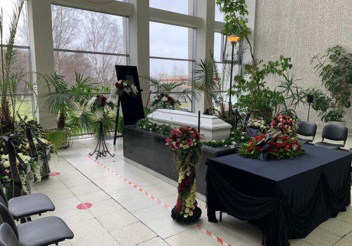 Оформление прощания в крематории
